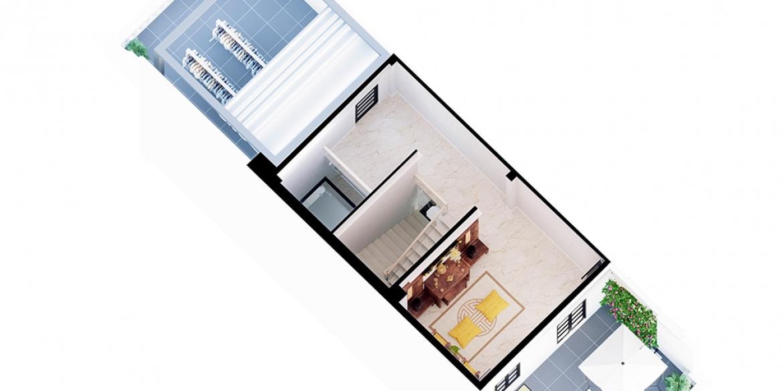Thiết kế nội thất căn hộ CityLand Park Hills