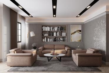 Interior design of CityLand Park Hills apartment